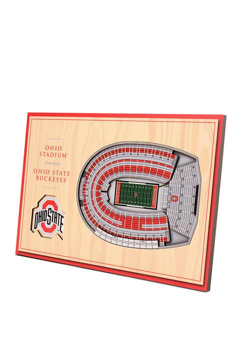 You The Fan NCAA Ohio State Buckeyes 3D