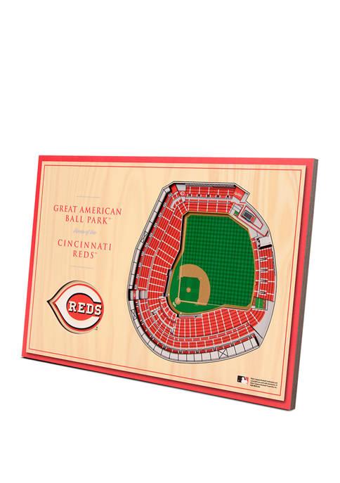 You The Fan MLB Cincinnati Reds 3D StadiumViews