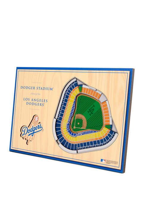 MLB Los Angeles Dodgers 3D StadiumViews Desktop Display