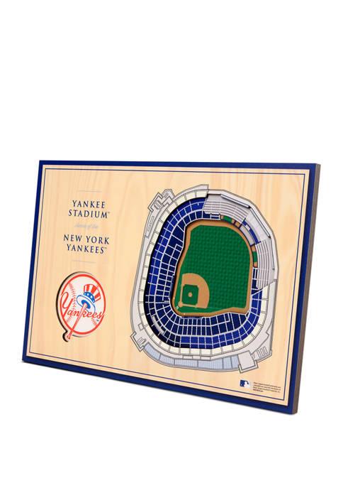 MLB New York Yankees 3D StadiumViews Desktop Display