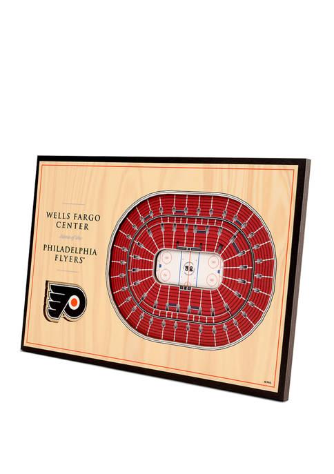 NHL Philadelphia Flyers 3D StadiumViews Desktop Display