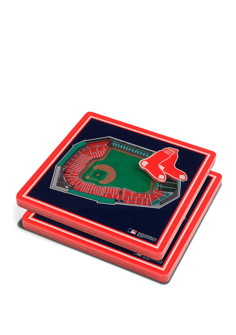 MLB Boston Red Sox 3D StadiumViews 2-Pack Coaster