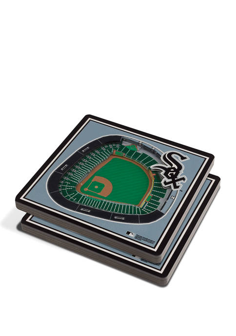 MLB Chicago White Sox 3D StadiumViews 2-Pack Coaster