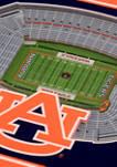 NCAA Auburn Tigers 3D StadiumViews 2 Pack Coaster Set - Jordan-Hare Stadium