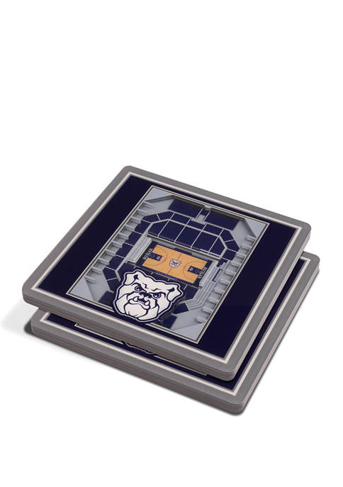 NCAA Butler Bulldogs 3D StadiumViews 2-Pack Coaster Set - Hinkle Fieldhouse
