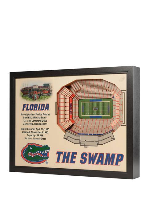 You The Fan NCAA Florida Gators 25-Layer StadiumViews