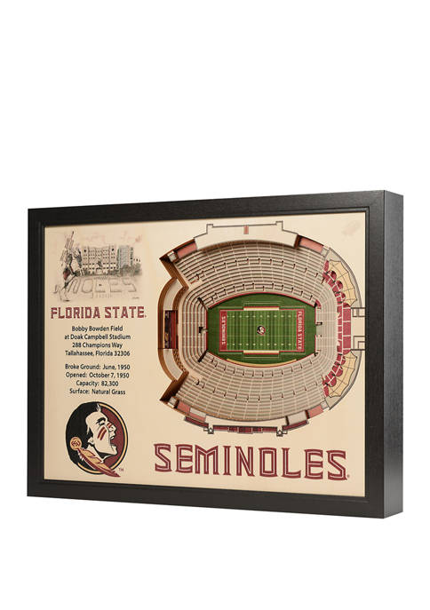 You The Fan NCAA Florida State Seminoles 25-Layer
