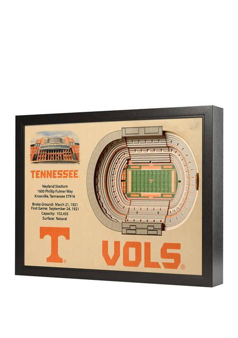 You The Fan NCAA Tennessee Volunteers 25-Layer StadiumViews