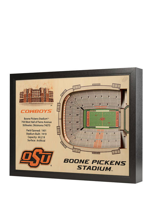 You The Fan NCAA Oklahoma State Cowboys 25-Layer