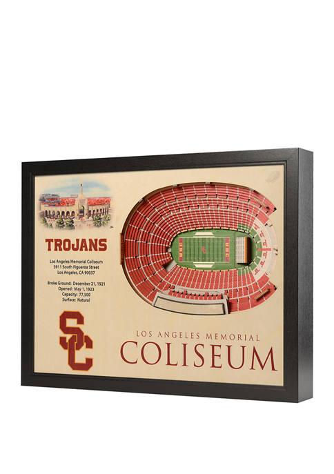 You The Fan NCAA USC Trojans 25-Layer StadiumViews