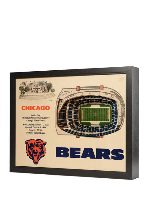 You The Fan NFL Chicago Bears 25 Layer