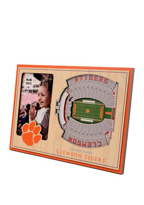 NCAA Clemson Tigers 3D StadiumViews Picture Frame - Memorial Stadium