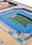 NFL Detroit Lions 3D StadiumViews Picture Frame - Ford Field