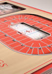 NHL Detroit Red Wings 3D StadiumViews Picture Frame - Joe Louis Arena