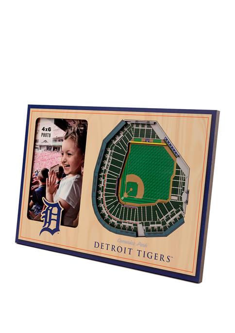 MLB Detroit Tigers 3D StadiumViews Picture Frame - Comerica Park