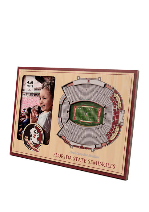 NCAA Florida State Seminoles 3D StadiumViews Picture Frame - Doak Campbell Stadium