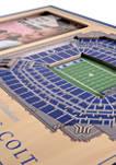 NFL Indianapolis Colts 3D StadiumViews Picture Frame - Lucas Oil Stadium