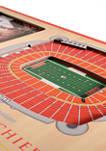 NFL Kansas City Chiefs 3D StadiumViews Picture Frame - Arrowhead Stadium