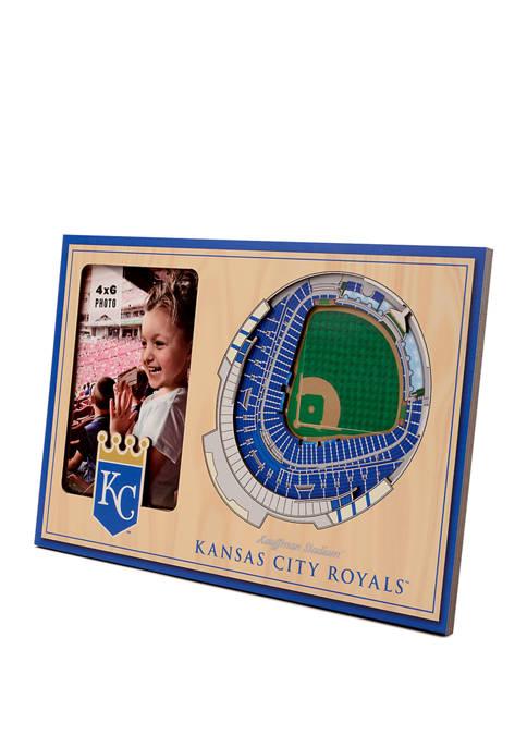 MLB Kansas City Royals 3D StadiumViews Picture Frame - Kauffman Stadium