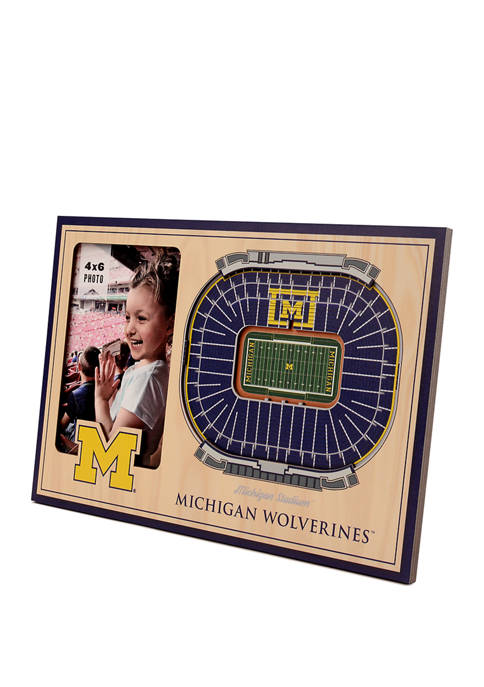 You The Fan NCAA Michigan Wolverines 3D StadiumViews