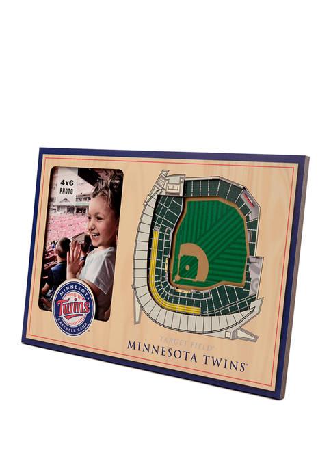 MLB Minnesota Twins 3D StadiumViews Picture Frame - Target Field