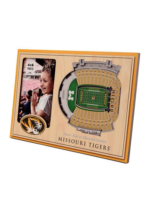 NCAA Missouri Tigers 3D StadiumViews Picture Frame - Faurot Field at Memorial Stadium