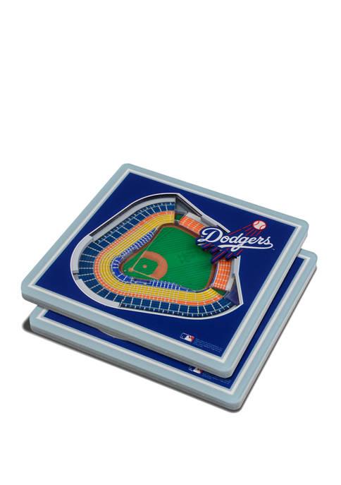 MLB Los Angeles Dodgers 3D StadiumViews 2-Pack Coaster