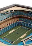 NFL Carolina Panthers 25-Layer StadiumViews 3D Wall Art - Bank of America Stadium