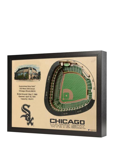 MLB Chicago White Sox 25-Layer StadiumViews 3D Wall Art - Guaranteed Rate Field