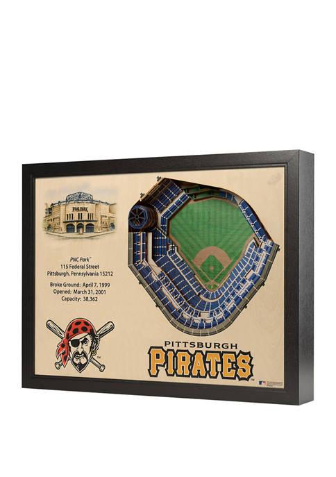 You The Fan MLB Pittsburgh Pirates 25-Layer StadiumViews