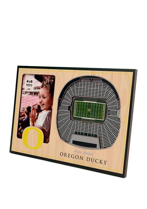 NCAA Oregon Ducks 3D StadiumViews Picture Frame - Autzen Stadium
