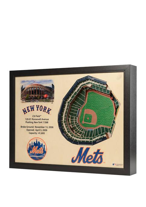MLB New York Mets 25-Layer StadiumViews 3D Wall Art - Citi Field