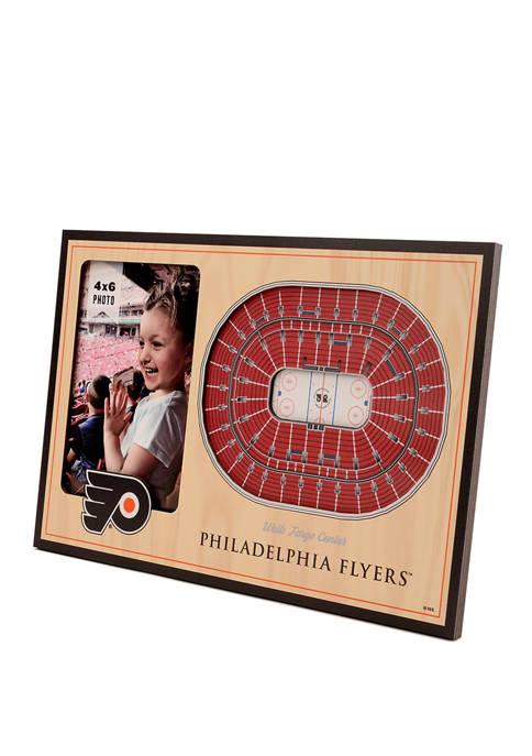 NHL Philadelphia Flyers 3D StadiumViews Picture Frame - Wells Fargo Center