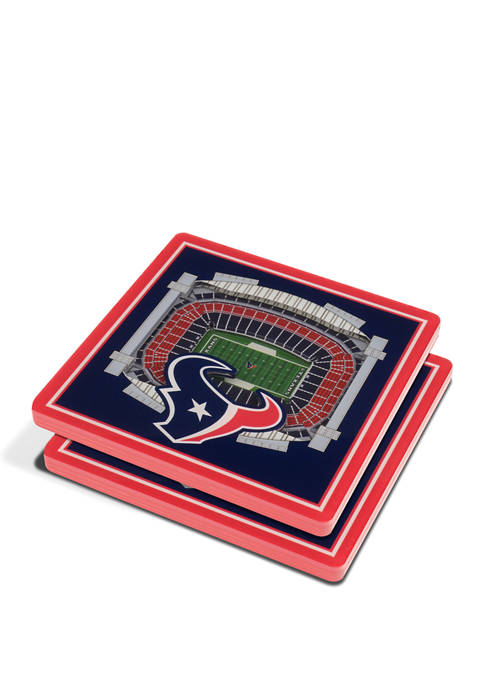 NFL Houston Texans 3D StadiumViews 2 Pack Coaster