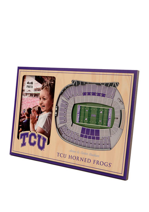 NCAA TCU Horned Frogs 3D StadiumViews Picture Frame - Amon G. Carter Stadium