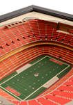 NFL Kansas City Chiefs 25-Layer StadiumViews 3D Wall Art - Arrowhead Stadium