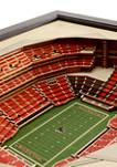 NFL Atlanta Falcons 25-Layer StadiumViews 3D Wall Art - Mercedes-Benz Stadium