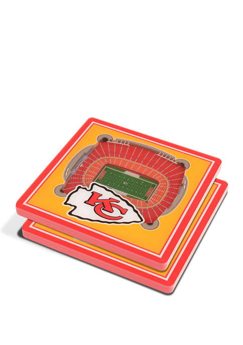 NFL Kansas City Chiefs 3D StadiumViews 2 Pack