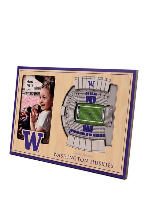 NCAA Washington Huskies 3D StadiumViews Picture Frame - Husky Stadium