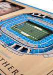 NFL Carolina Panthers 3D StadiumViews Picture Frame - Bank of America Stadium