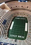 NCAA Penn State Nittany Lions 25-Layer StadiumViews Lighted End Table - Beaver Stadium