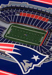 NFL New England Patriots 3D StadiumViews Set of 2 Coasters - Gillette Stadium