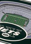 NFL New York Jets 3D StadiumViews Set of 2 Coasters - MetLife Stadium