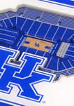 NCAA Kentucky Wildcats 3D Stadium Views Coaster Set - Rupp Arena