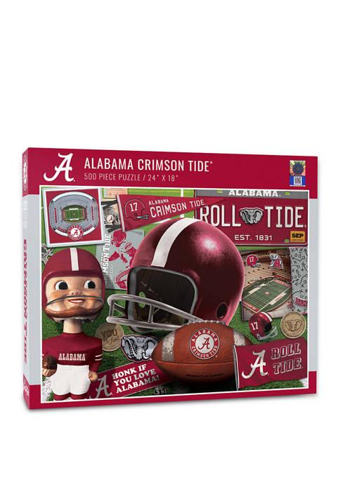 You The Fan NCAA Alabama Crimson Tide Retro