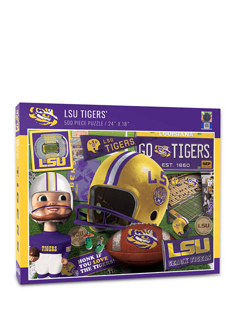 You The Fan NCAA LSU Tigers Retro Series