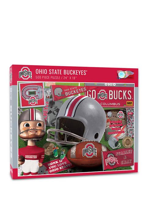 NCAA Ohio State Buckeyes Retro Series Puzzle - 500 Pieces