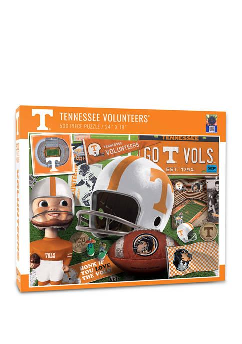 NCAA Tennessee Volunteers Retro Series Puzzle - 500 Pieces