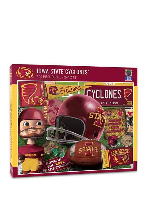 NCAA Iowa State Cyclones Retro Series Puzzle - 500 Pieces