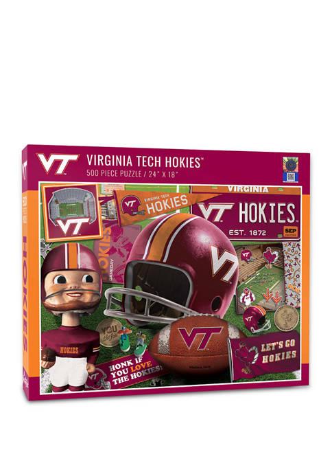 You The Fan NCAA Virginia Tech Hokies Retro